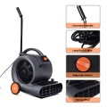 Air Mover Blower Fan 3 Speeds Dryer With Wheels