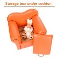 Kids Sofa Armrest Chair Couch w/ Storage Function