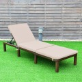 4 Position Adjustable Chaise Lounge Chair