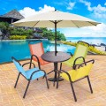 Patio / Indoor 5 pcs Kids Dining Table and Chairs Play Set