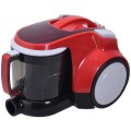 1200 W Upgraded Bagless Canister Cord Rewind Vacuum Cleaner w/ HEPA Filtration