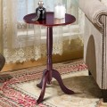 Classic Round Accent Table w/ Simple Design