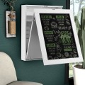 Space Saver Convertible Wall Mounted Desk