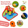 Inflatable Blow Up Water Slide  Bounce House with 740 W Blower