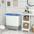 2-in-1 Portable Washing Machine and Dryer Combo