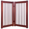 """30"""" Configurable Folding Free Standing Wood Pet Safety Fence"""