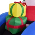 6' Indoor / Outdoor Inflatable Christmas Santa Claus on Truck