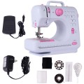 Free-Arm Crafting Mending Sewing Machine with 12 Built-in Stitched