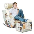Stylish Kids Sofa with an Ottoman for 2 - 12 years old