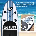 10' Inflatable Stand Up Paddle Board with Paddle Pump