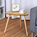 Living Room Triangle Top Side End Accent Coffee Table