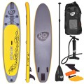 Goplus 11' Inflatable Stand up Paddle Board SUP with 3 Fins
