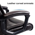 Ergonomic PU Leather Mid Back Executive Office Chair