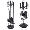 31 Inch 5 Pieces Hearth Fireplace Fire Tools Set