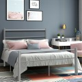 """77.5"""" x 55.5"""" x 35.0"""" Full Size Metal Bed Frame 10 Legs"""