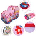 Foldable Colorful Train Kids Play Tent