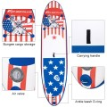 11' Inflatable Stand Up Paddle Board Backpack Sport