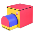 2-in-1 Jumping Box Trainer Tumbling Aid in Mailbox Design
