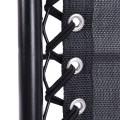 2 Pcs Folding Lounge Chair with Zero Gravity