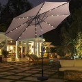 10' Patio Outdoor Sunshade Hanging Umbrella without Weight Base