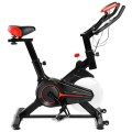 Stationary Indoor Sports Bicycle with Heart Rate Sensor and LCD Display