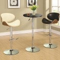 Height Adjustable Round Bar Table