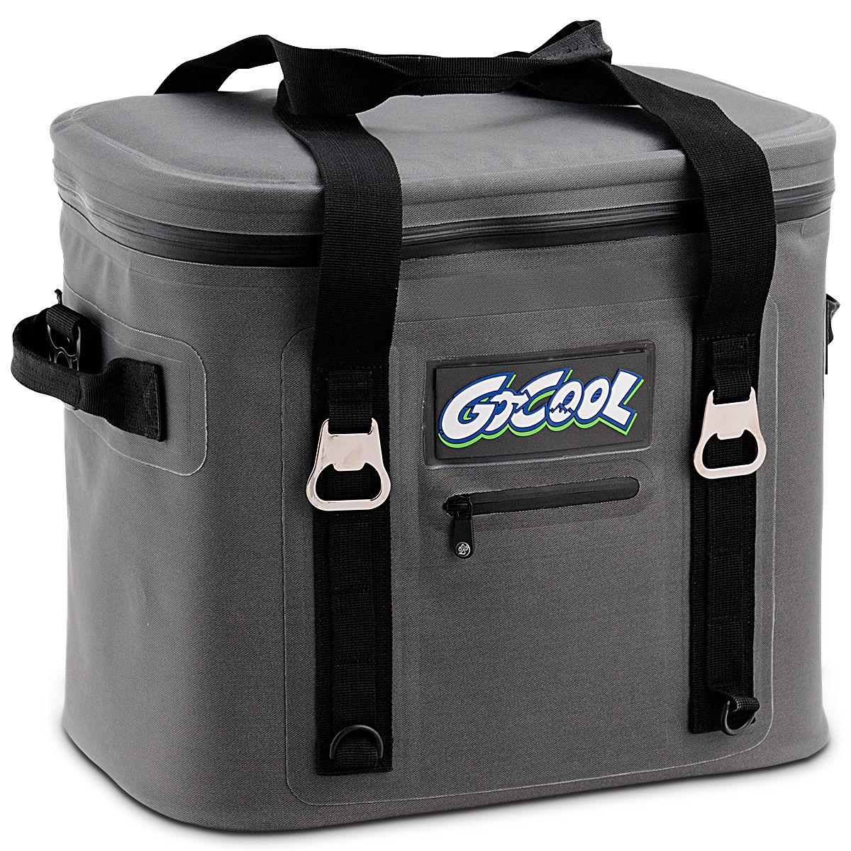 Image of 24-Can Soft Cooler Water-Resistant Leakproof Insulated Lunch Bag